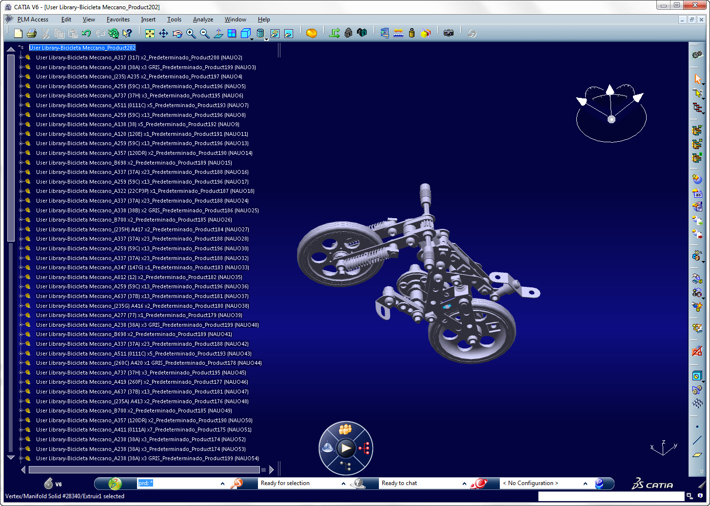 CATIA V6 im Blue Layer