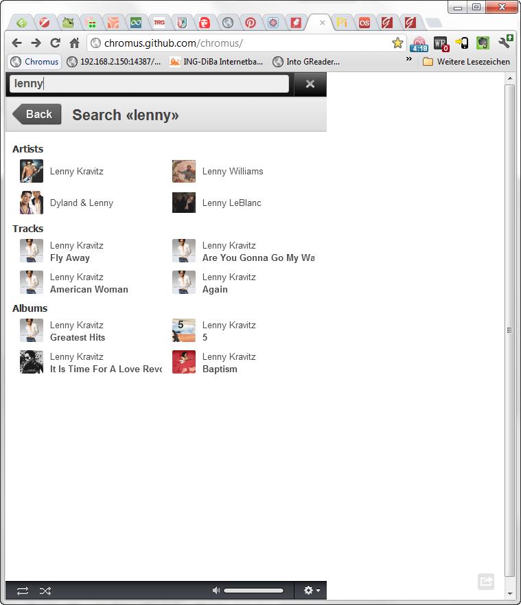 Chromus Web-Player